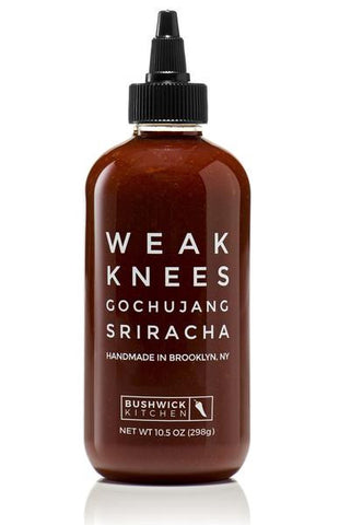 Bushwick Kitchen Weak Knees Gochujang Sriracha
