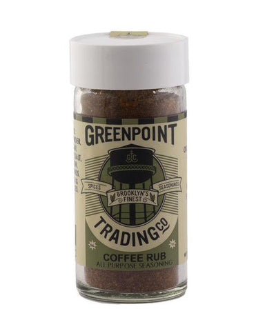 Greenpoint Trading Co. Coffee Rub