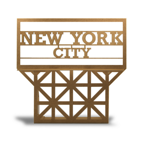 New York City Skyline Sign