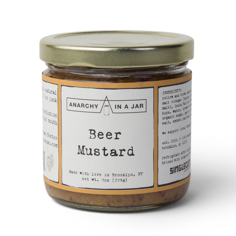 Anarchy In A Jar Beer Mustard