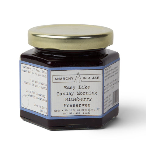 Anarchy In A Jar Blueberry Preserves