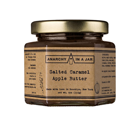 Salted Caramel Apple Butter