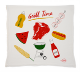 Grill Time Tea Towel