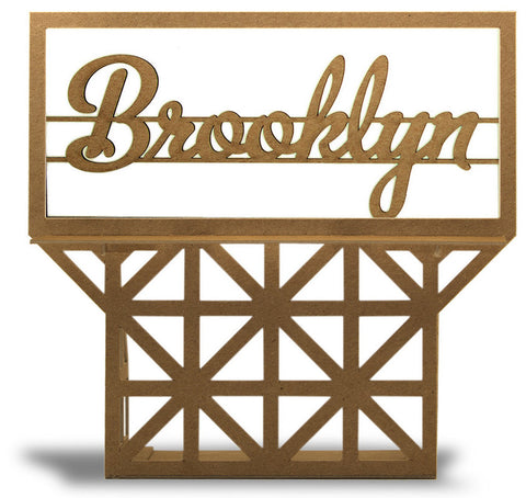 Boundless Brooklyn Skyline Sign - Brooklyn