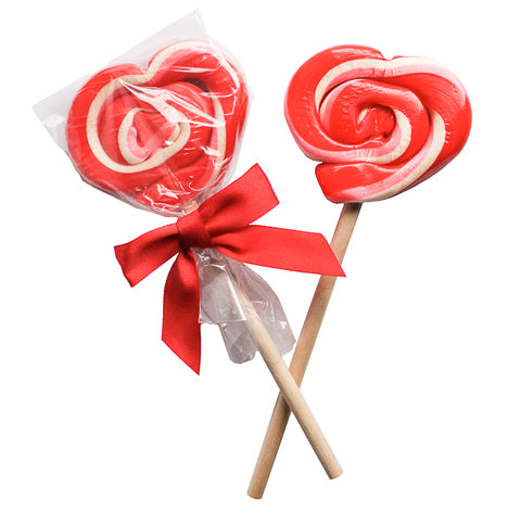 Hammond's Strawberry Shortcake Heart Lollipop