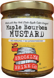 Brooklyn Brine Maple Bourbon Mustard