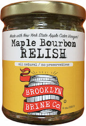 Brooklyn Brine Maple Bourbon Relish