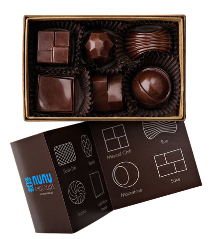 Nunu Chocolates Booze Box