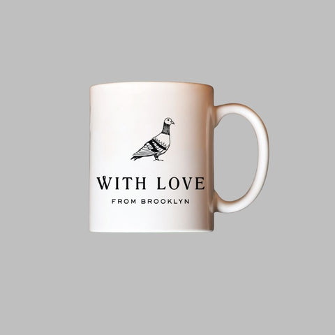 Pigeon Mug Made in Brooklyn Gift Basket