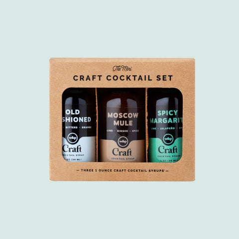W and P Craft Cocktail Set Made in Brooklyn Gift Basket