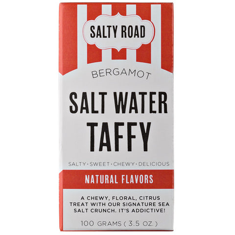 Salty Road Bergamot Salt Water Taffy