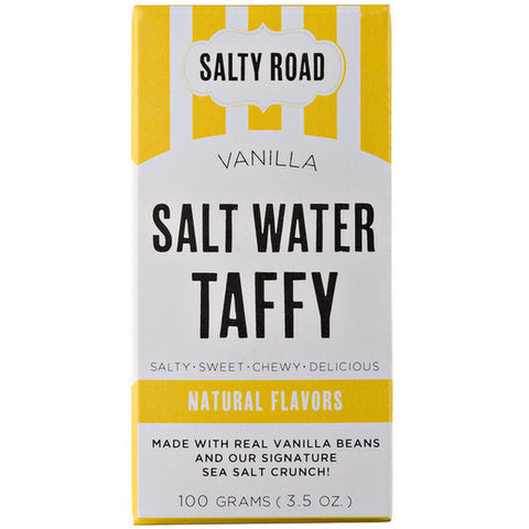 Salty Road Vanilla Salt Water Taffy