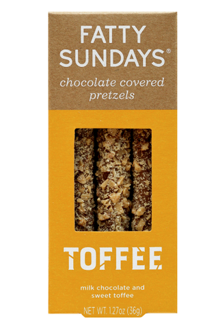 Toffee Crunch Pretzels