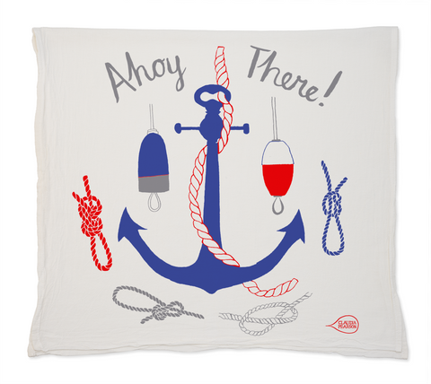 Ahoy There! Tea Towel