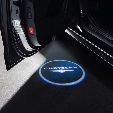 CarFitg Wireless LED Car Door Projector Puddle Logo Light - CHRYSLER