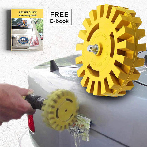 Car Fitg Decal Removal Wheel