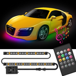 CarFitg™ 194 LED RF Voice remote control LED Underbody Lights