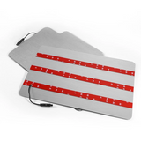 CarFitg™ HONDA Acrylic LED Foot Mats | Car logo illuminating mat