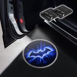 CarFitg Wireless Led Car Door Projector Puddle Logo Light - Batman