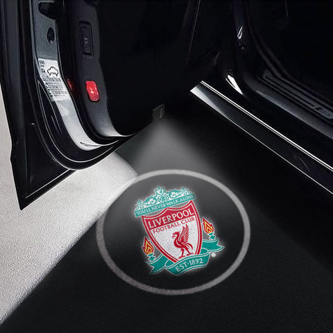 CarFitg Wireless LED Car Door Projector Puddle Logo Light - Liverpool FC