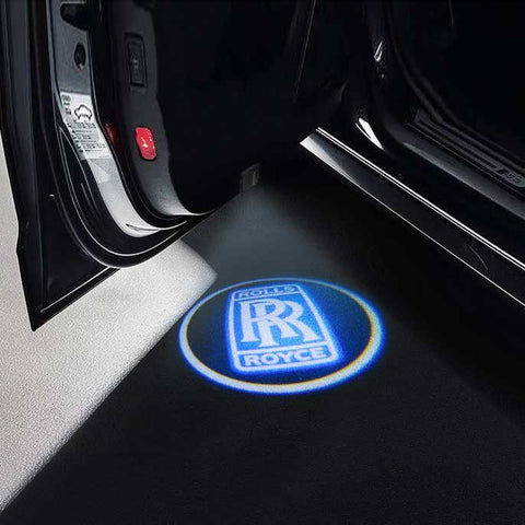 CarFitg Wireless Led Car Door Projector Puddle Logo Light - ROYCE