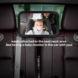 Car Fitg Stable Baby Backseat Mirror Shatterproof for Car