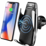 Car Fitg Automatic Clamping Wireless Car Phone Charger Mount
