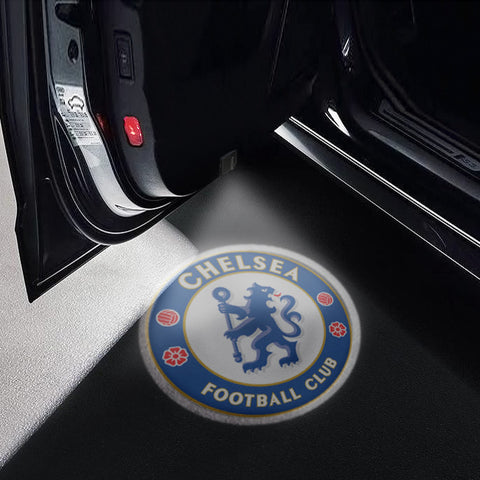 CarFitg Wireless LED Car Door Projector Puddle Logo Light - Chelsea F.C.