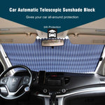 Car Fitg Retractable Windshield Sunshade Auto Sun Shade