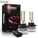 2Pcs 9005/HB3 Car LED Headlight Bulbs Kit - 110w 1000LM Super Bright Headlights