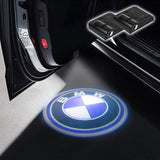 CarFitg Wireless LED Car Door Projector Puddle Logo Light - BMW