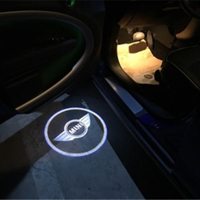 Car Fitg Wireless LED Car Door Projector - Mazda