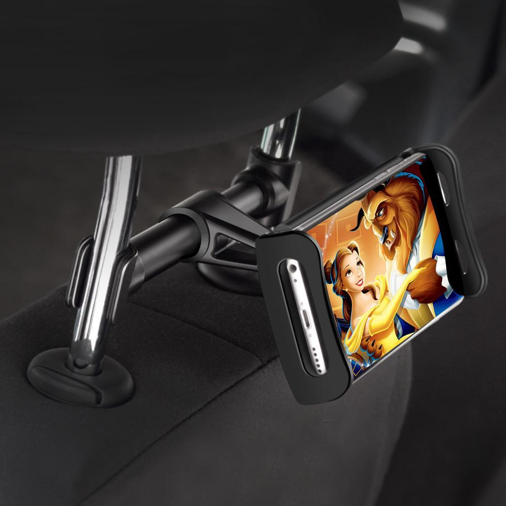 Car Fitg Headrest Tablet and Phone Holder