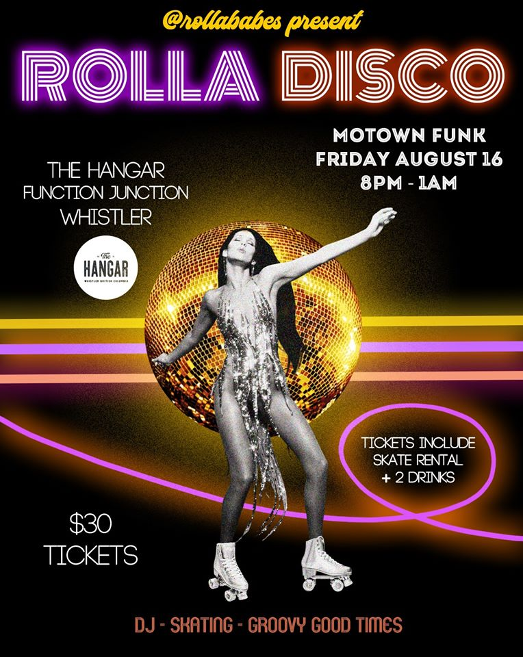 ROLLA DISCO by the Rolla Babes