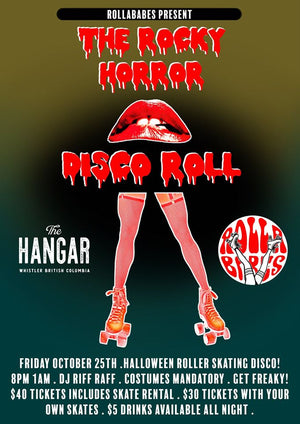 ROCKY HORROR DISCO ROLL by the Rolla Babes