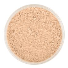 Natural Mineral Makeup in shade Medium. Loose Foundation Setting Powder, Vegan Cruelty Free Healthy Cosmetics