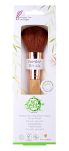 So Eco Powder Brush Earth-friendly Recycled Sustainable Bamboo Natural Vegan Cruelty Free Green Eco Beauty