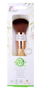 So Eco Blusher Blush Brush Earth-friendly Recycled Sustainable Bamboo Natural Vegan Cruelty Free Green Eco Beauty
