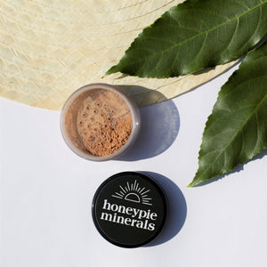 Honeypie Minerals Foundation Warm Tan Natural Vegan Cruelty Free Green Clean Eco Beauty Makeup