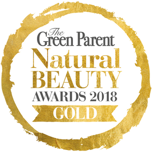 Green Parent Magazine Natural Beauty Awards Gold Winner