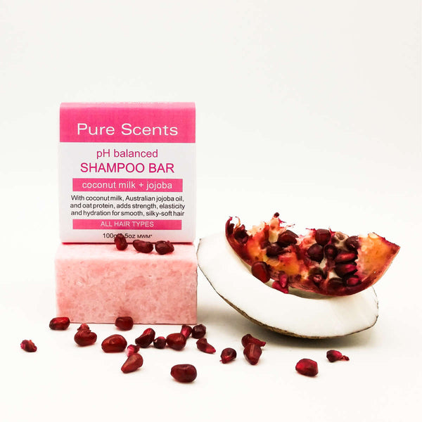 Coconut Milk Shampoo Bar - Pure Scents