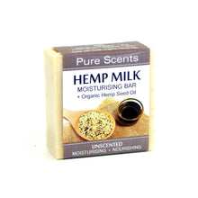 Load image into Gallery viewer, Hemp Milk Soap Bar - Unscented - Pure Scents