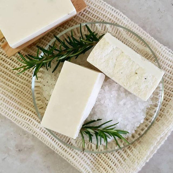 Sea Salt & Coconut Creme Soap Bars - Coconut & Lime Value Pack - Pure Scents