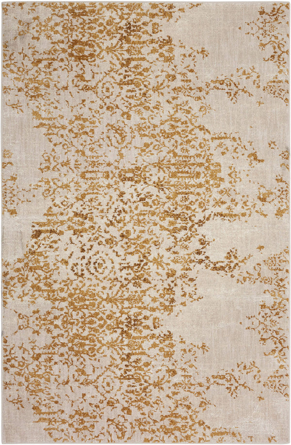 Karastan Cosmopolitan Nirvana Brushed Gold by Virginia LCornery