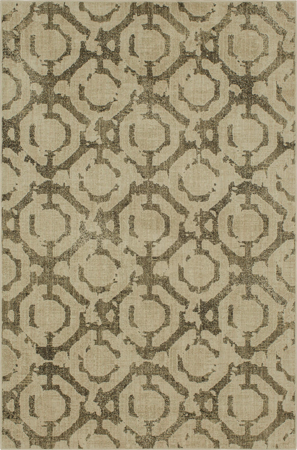 Karastan Expressions Motif Dark Linen by Scott Living