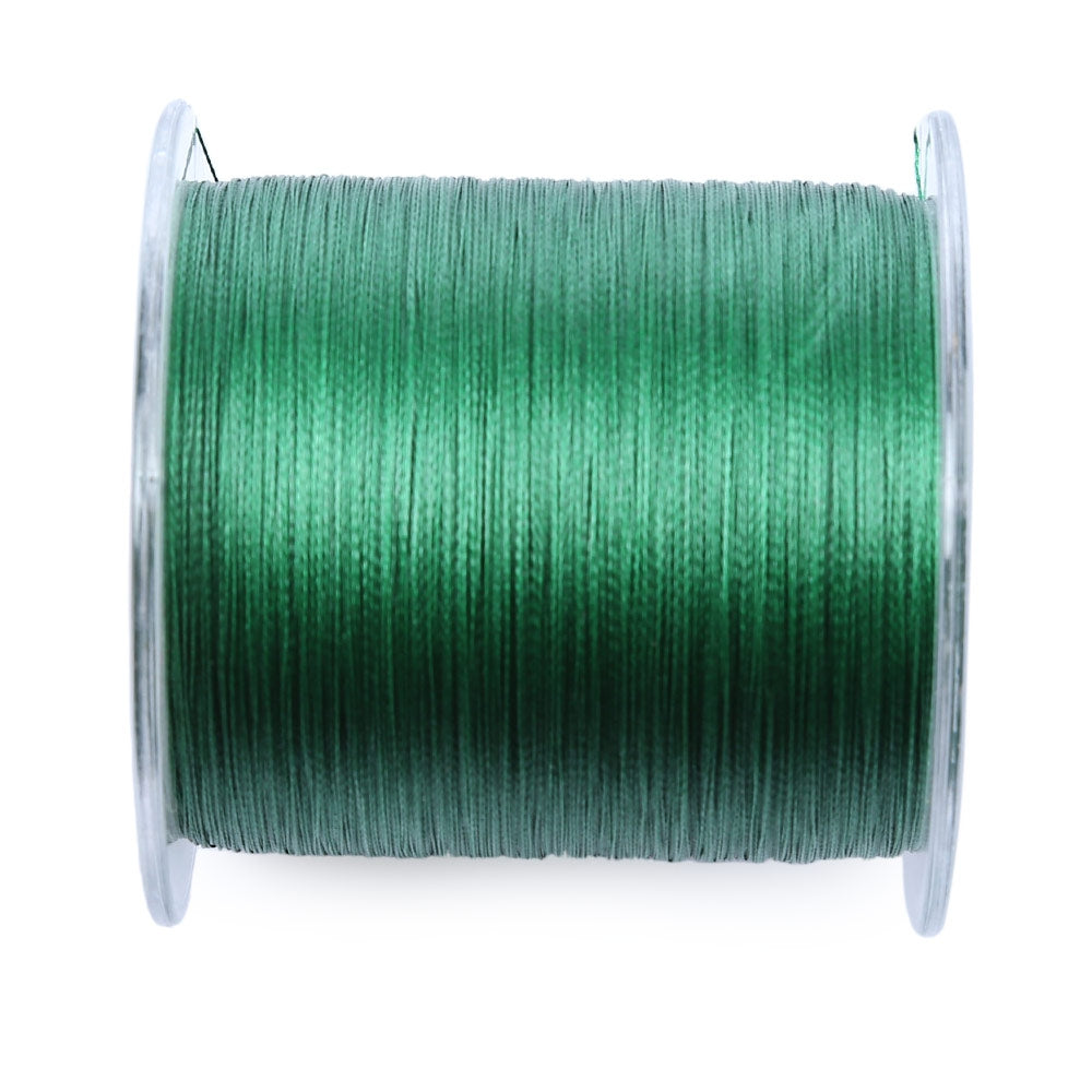 PROBEROS 500M Durable Colorful PE 4 Strands Monofilament Braided Fishing Line Angling Accessory