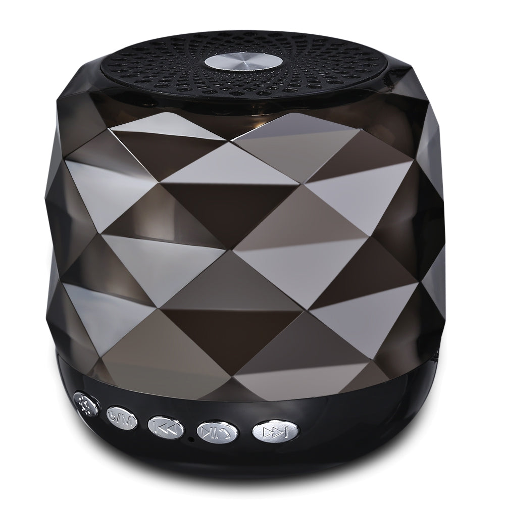 YZS - 05 Mini Wireless Bluetooth Stereo Speaker LED Lamp Portable Player