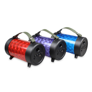 M21 Mini Wireless Bluetooth Stereo Speaker RGB Lamp Portable Player