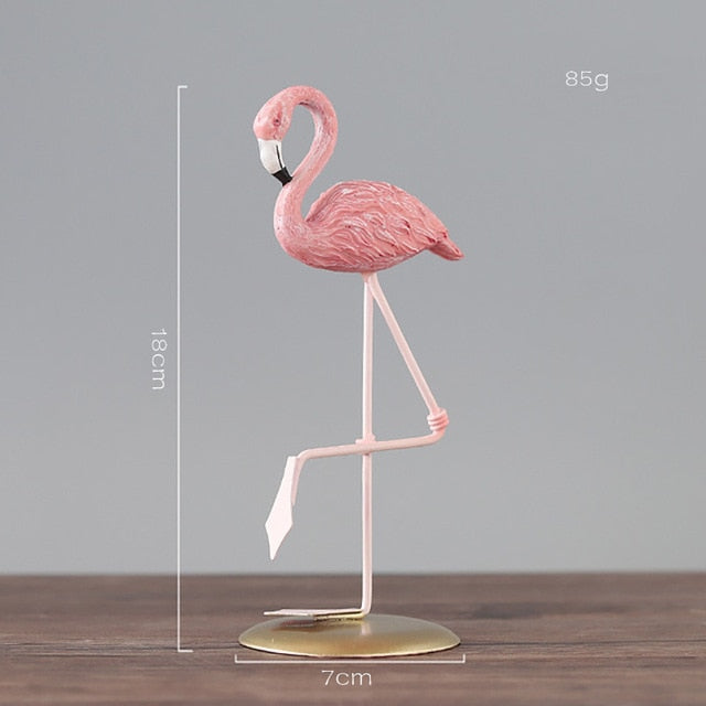 1pc Nordic Ins Pink Flamingo Ornaments