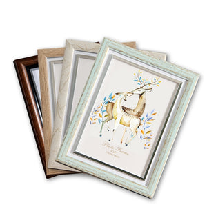European Retro Style Multi Colors Photo Frame fotolijst 5-12inch Plastic Picture Frame Lovely Photo Frames Kids Gift marco foto